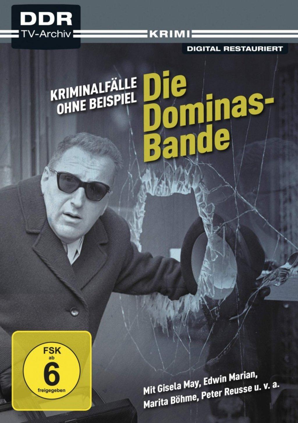 Kriminalfälle ohne Beispiel - Die Dominas-Bande - DDR TV-Archiv (DVD)