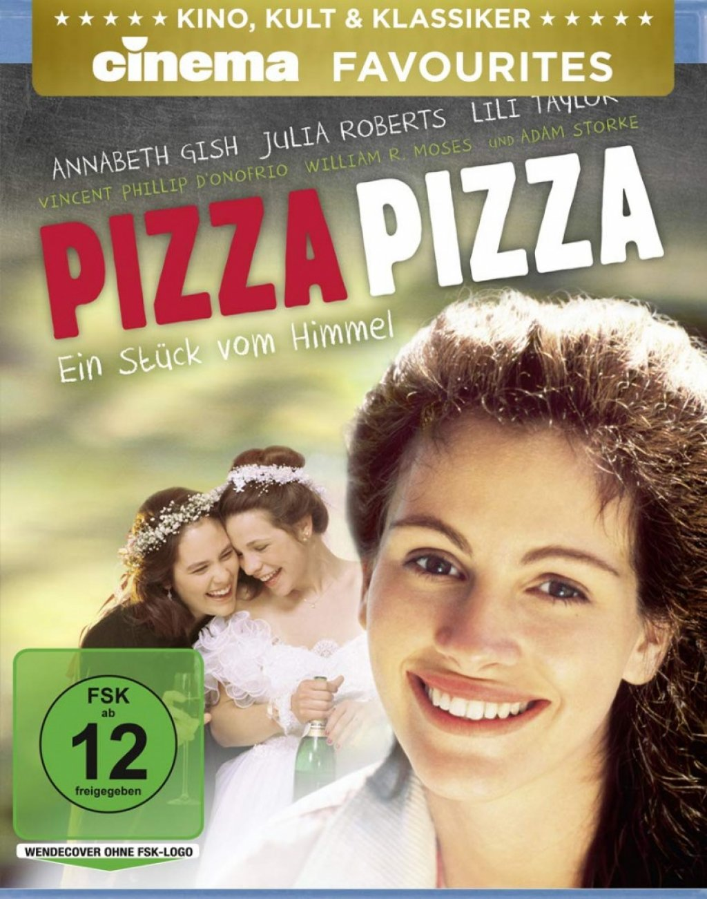 Pizza Pizza - Ein Stück vom Himmel - CINEMA Favourites (Blu-ray)
