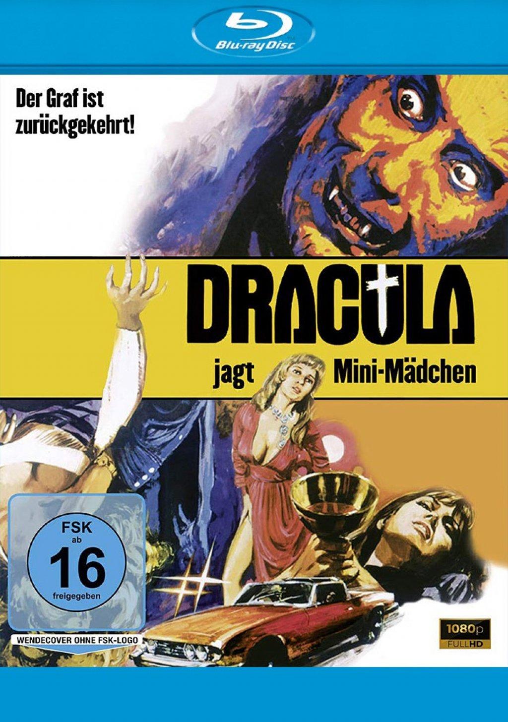 Dracula jagt Mini-Mädchen (Blu-ray)
