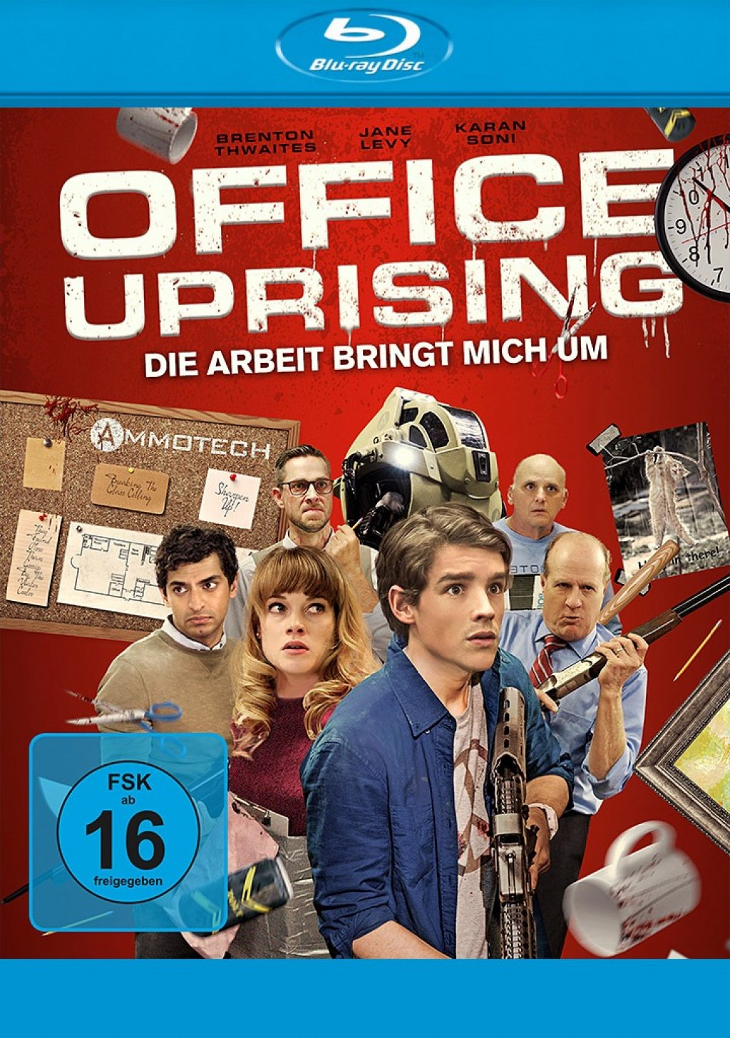 Office Uprising (Blu-ray)