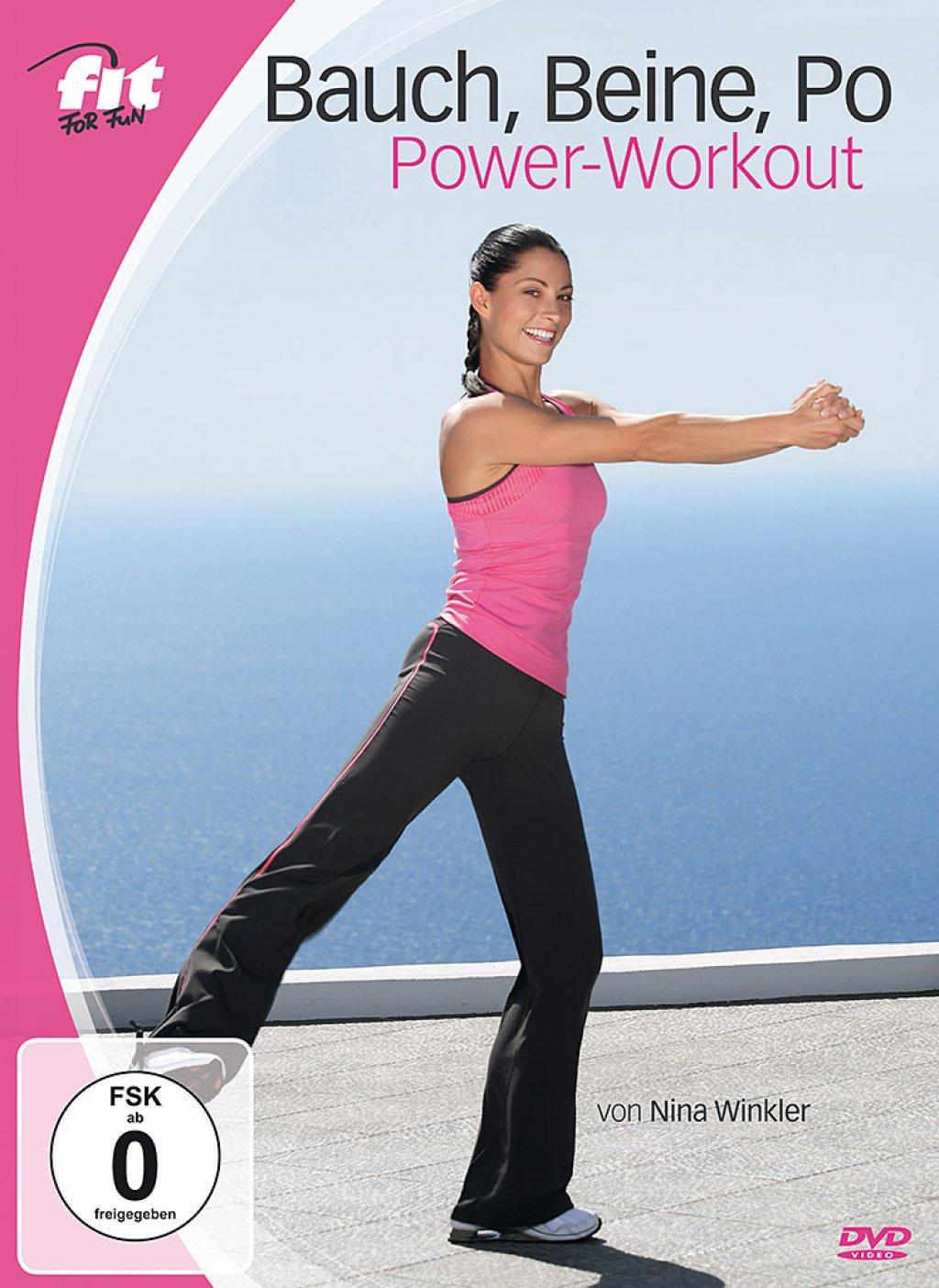 Fit for Fun - Bauch, Beine, Po Power-Workout (DVD)