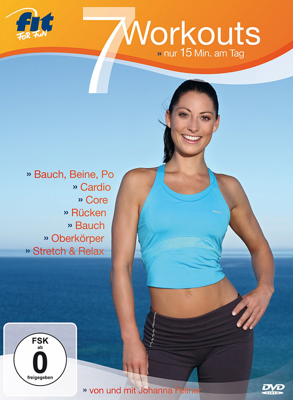 Fit for Fun - 7 Workouts: nur 15 Minuten am Tag (DVD)