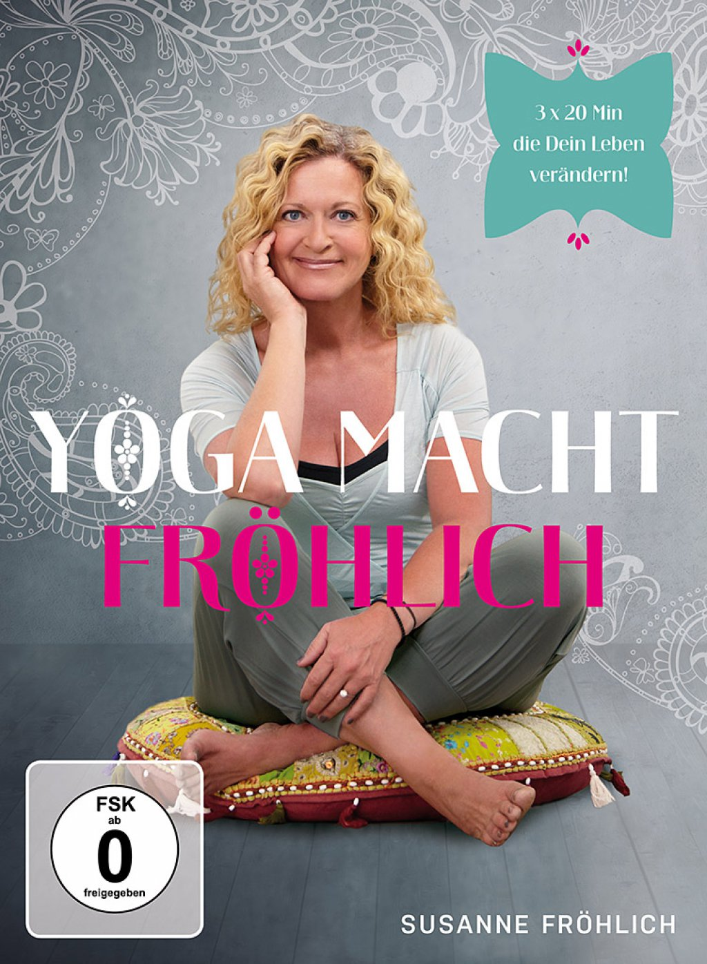 Susanne Fröhlich - Yoga macht Fröhlich (DVD)