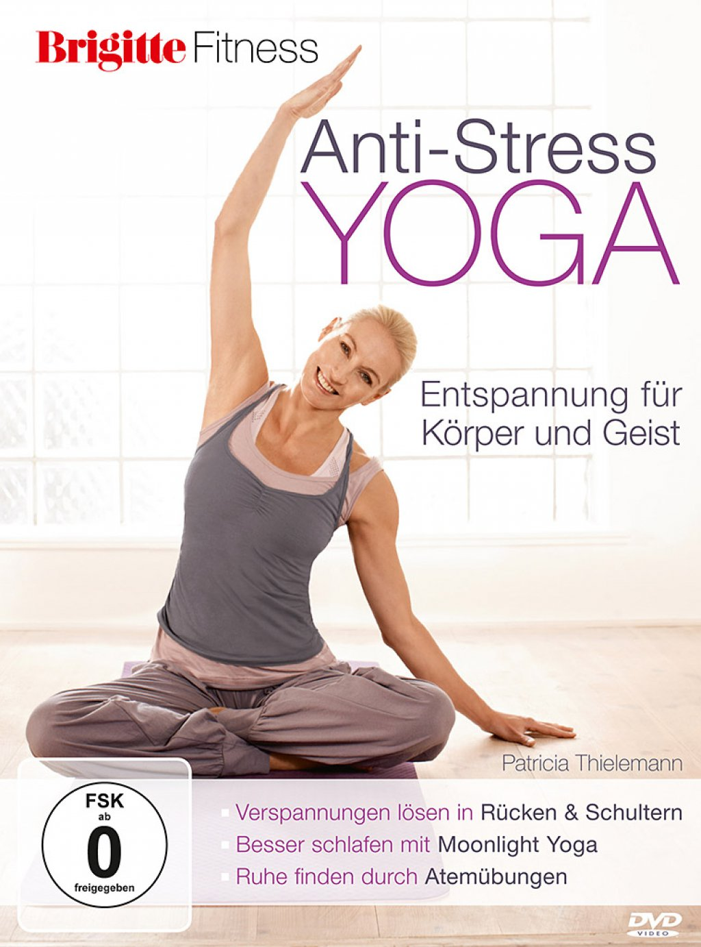 Brigitte Fitness - Anti-Stress Yoga (DVD)