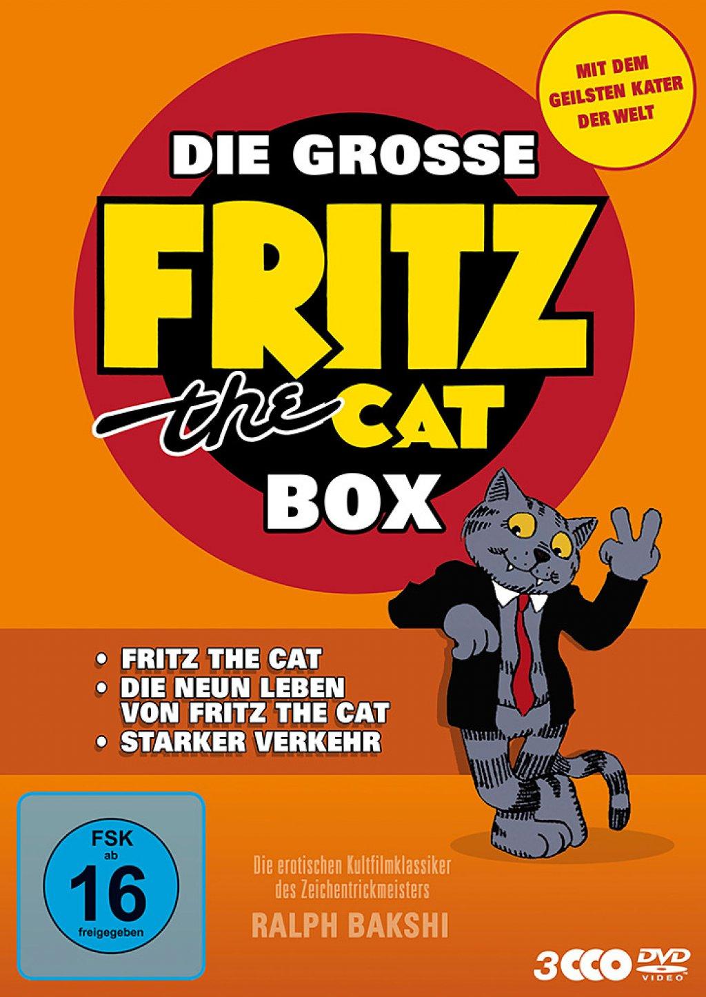 Die grosse Fritz the Cat Box (DVD)