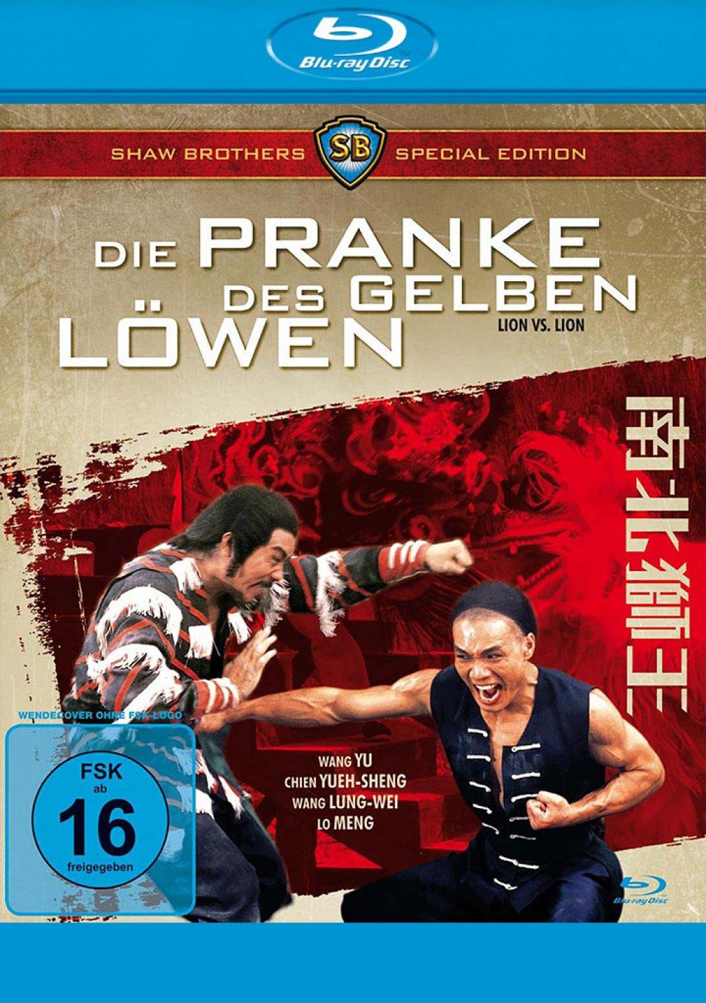 Die Pranke des gelben Löwen (Blu-ray)