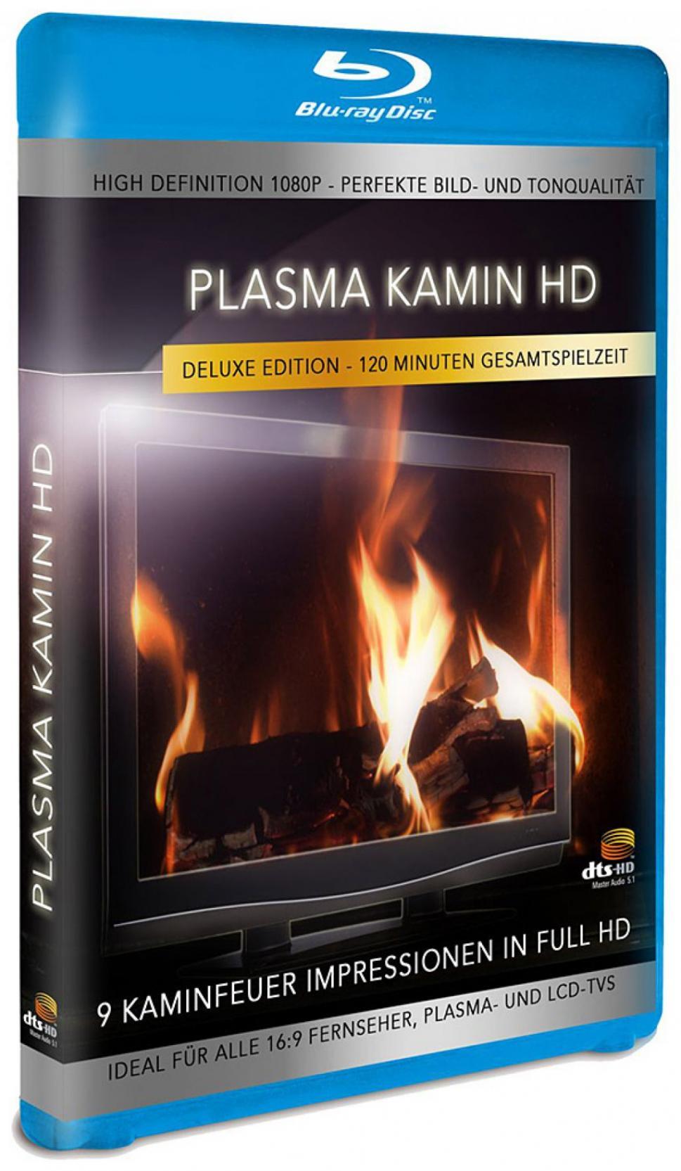 Plasma Kamin - Vol. 01 (Blu-ray)