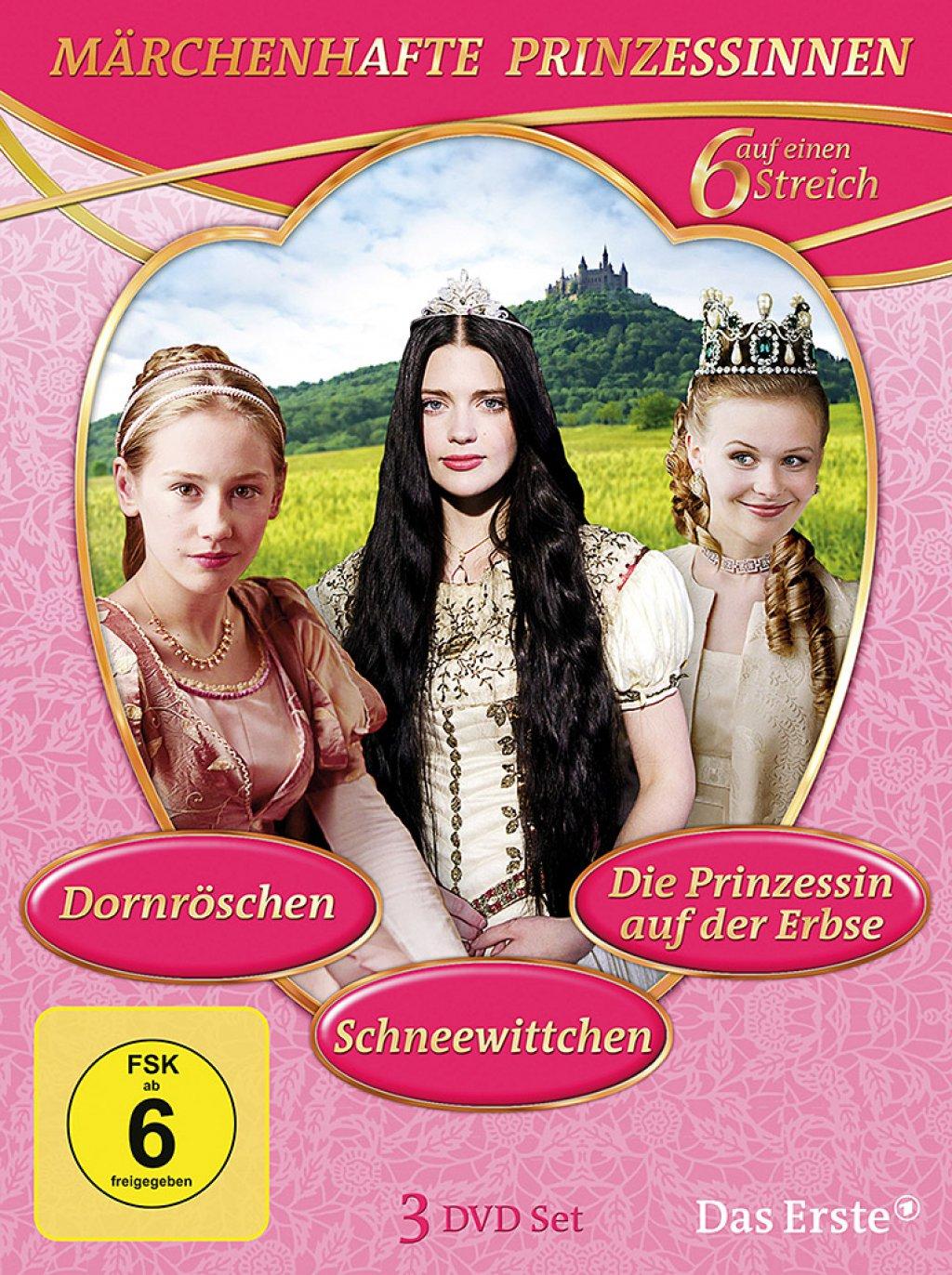Märchenhafte Prinzessinnen (DVD)