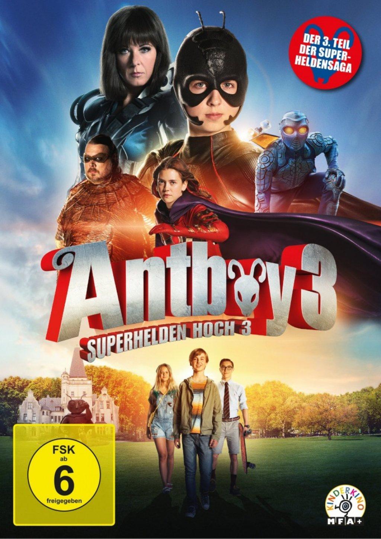 Antboy 3 - Superhelden Hoch 3 (DVD)