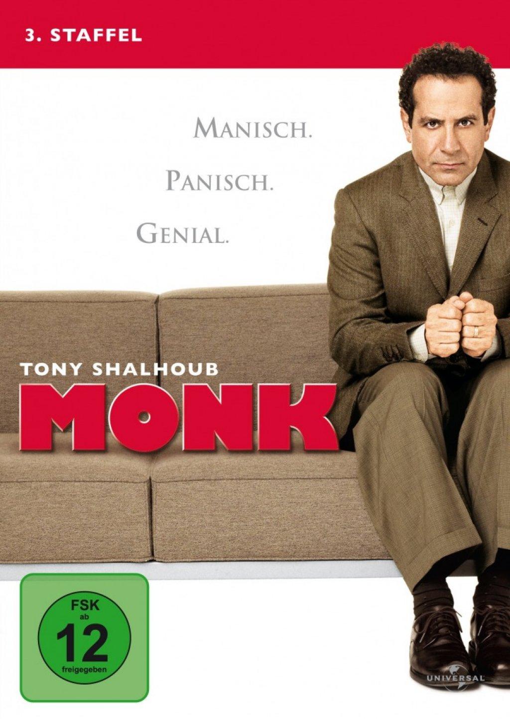Monk - Season 3 (DVD)