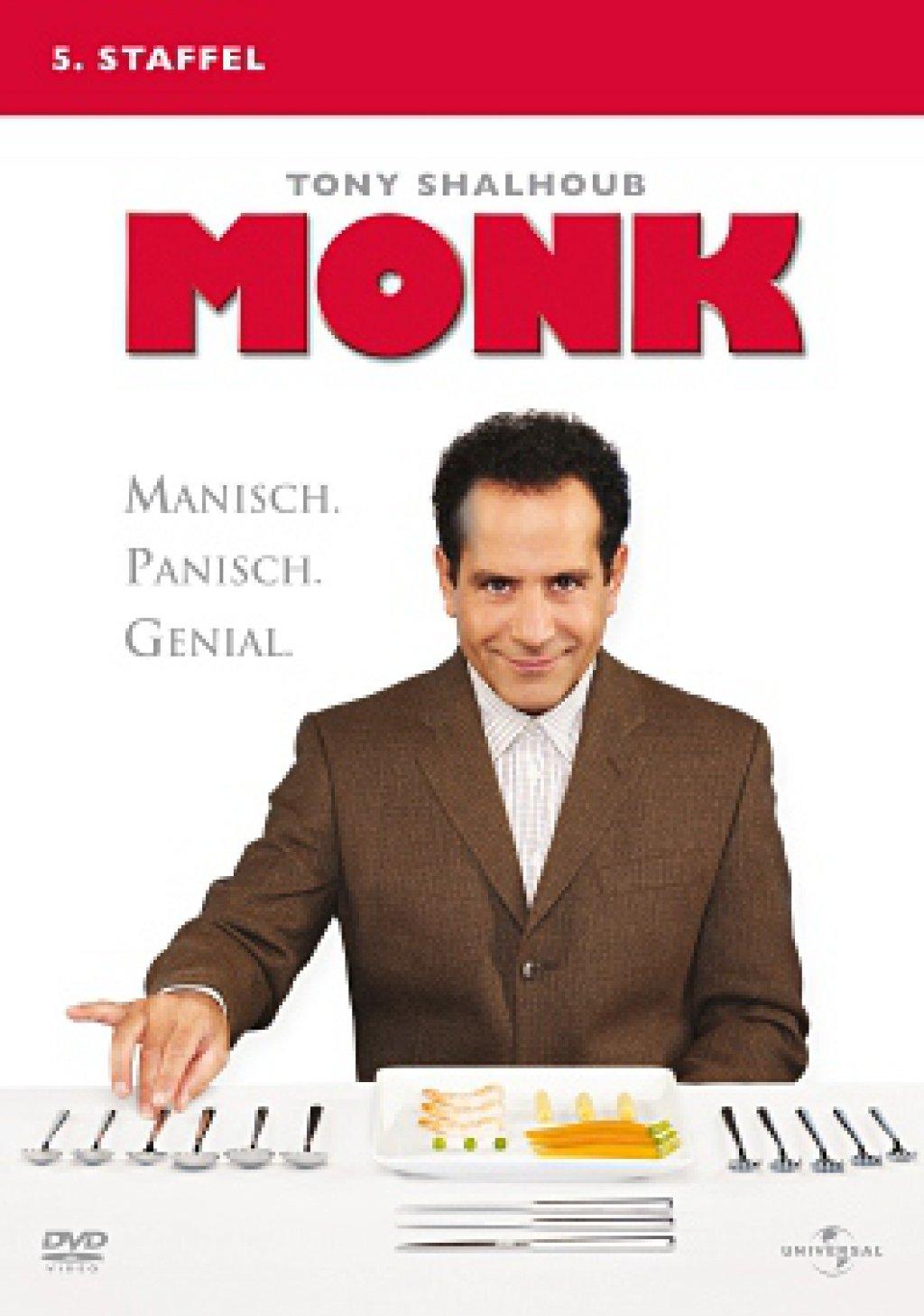 Monk - Season 5 (DVD)