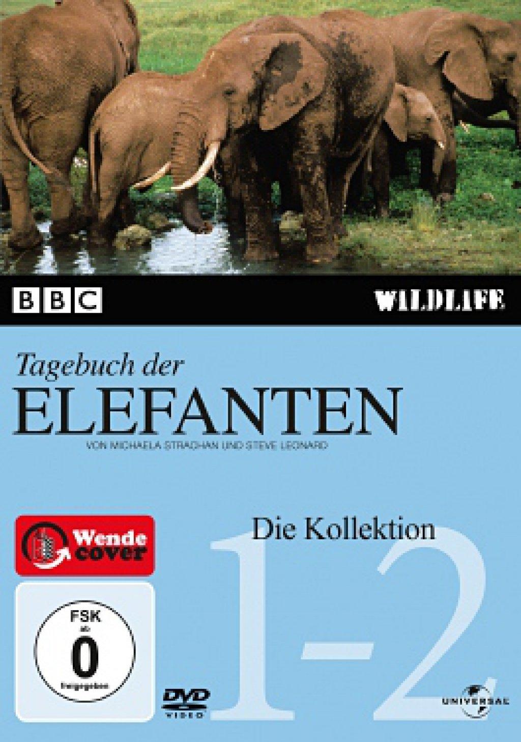 Das BBC Tagebuch der Elefanten - BBC Wildlife (DVD)