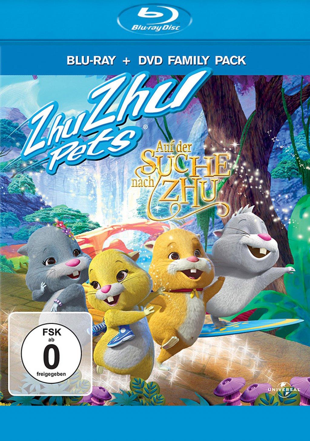Auf der Suche nach Zhu - Blu-ray + DVD / Blu-ray-Verpackung (Blu-ray)
