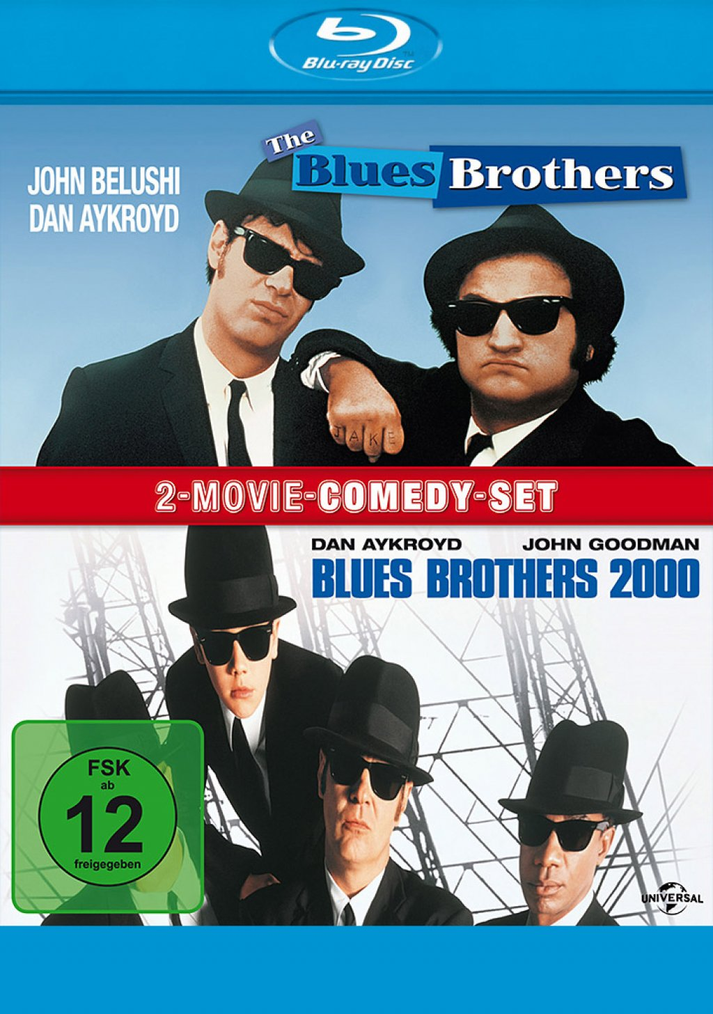 Blues Brothers & Blues Brothers 2000 - 2-Movie Comedy-Set (Blu-ray)