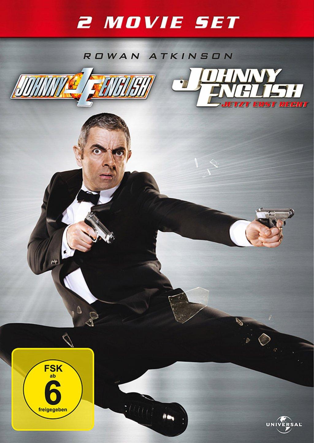 Johnny English & Johnny English - Jetzt erst Recht - 2 Movie Set (DVD)