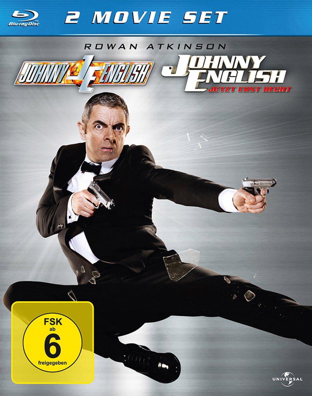 Johnny English & Johnny English - Jetzt erst Recht - 2 Movie Set (Blu-ray)