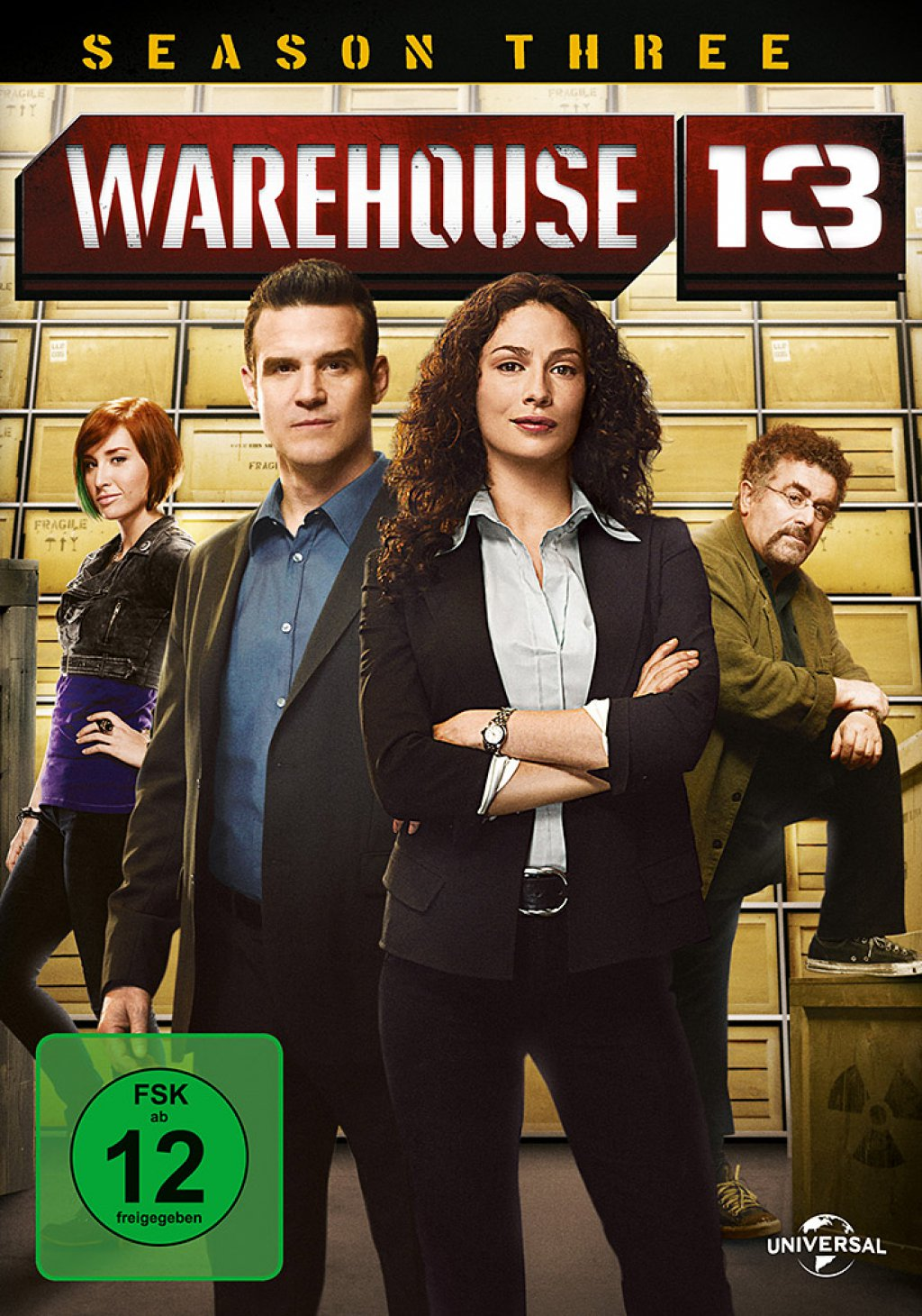Warehouse 13 - Season 3 (DVD)