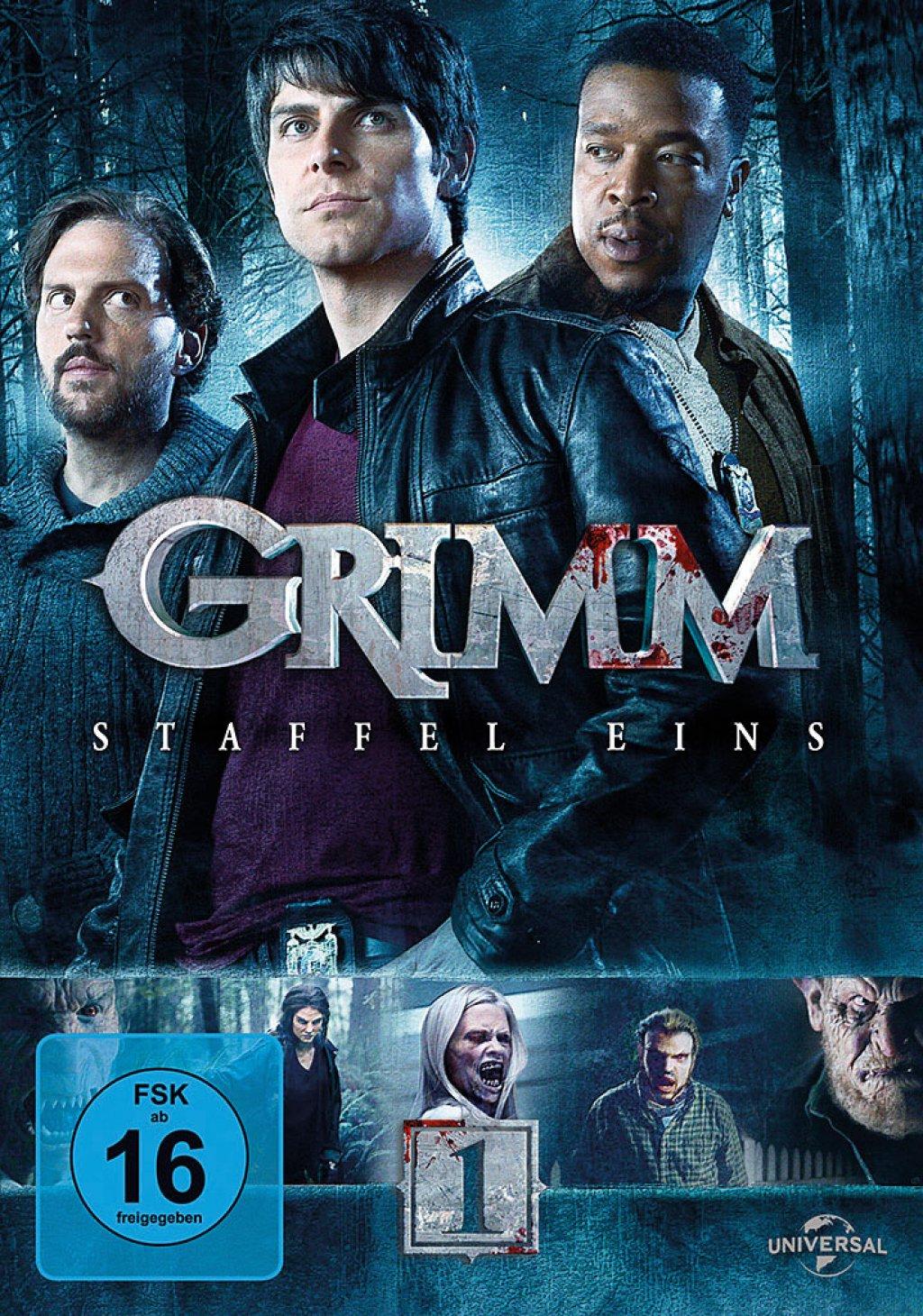Grimm - Staffel 01 (DVD)
