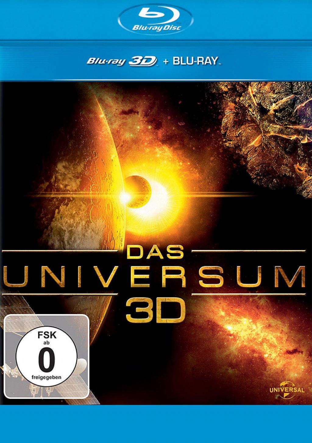 Das Universum 3D - Blu-ray 3D + 2D (Blu-ray)