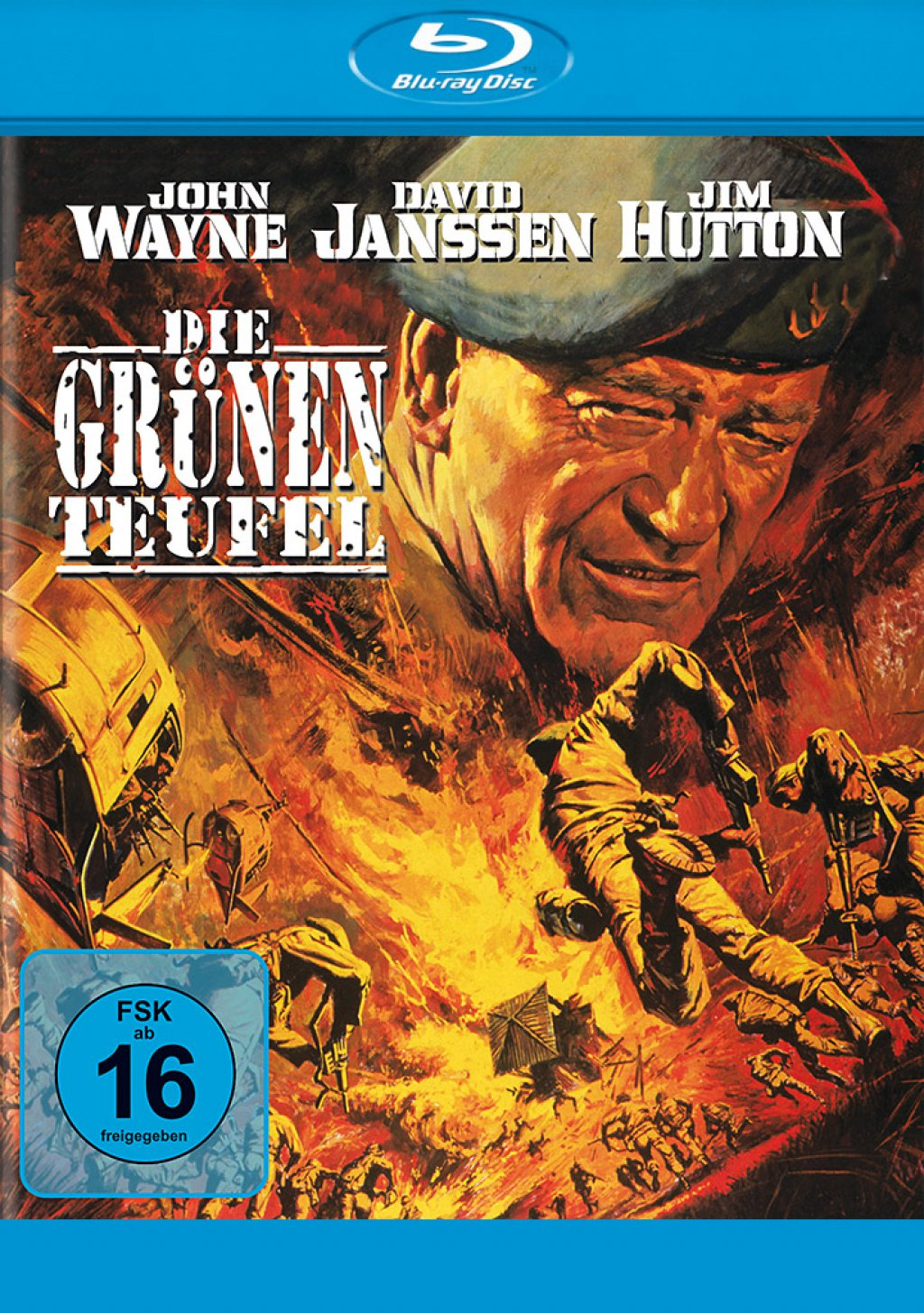 Die grünen Teufel (Blu-ray)