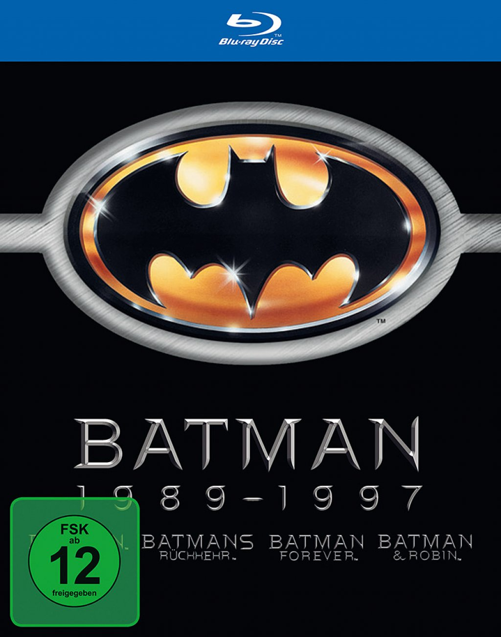 Batman 1989-1997 (Blu-ray)