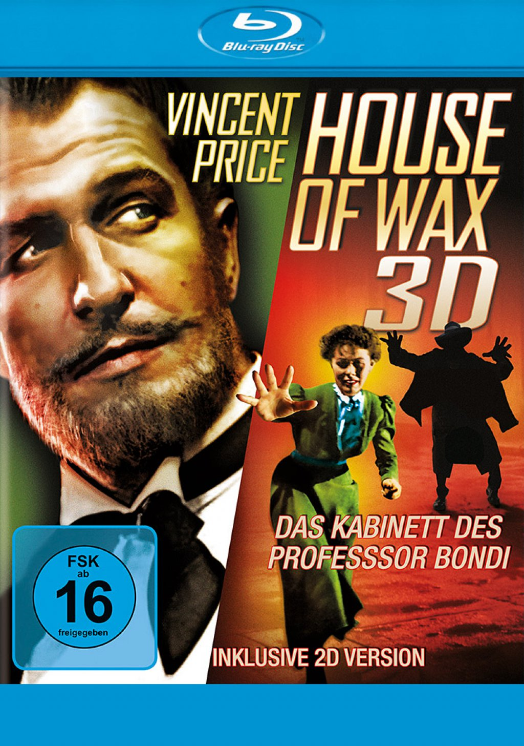 Das Kabinett des Professor Bondi - House of Wax - Blu-ray 3D + 2D (Blu-ray)