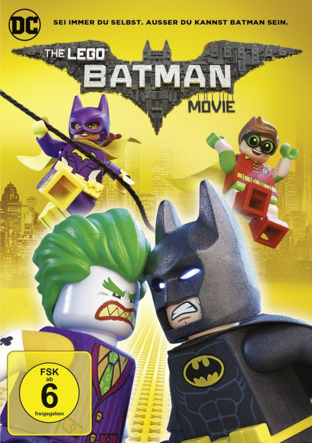 The Lego Batman Movie (DVD)