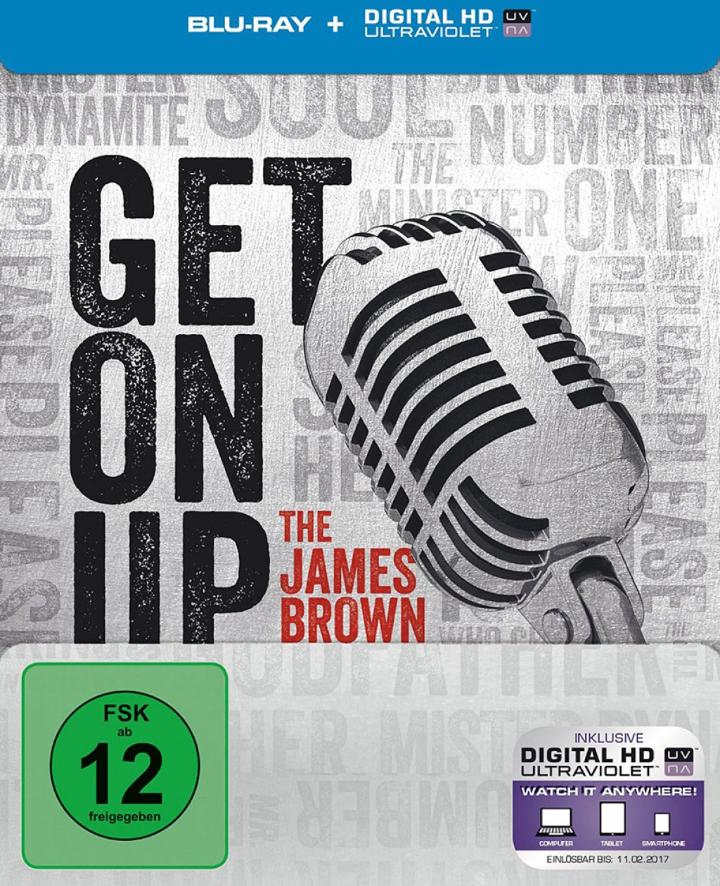 Get on Up - Steelbook (Blu-ray)
