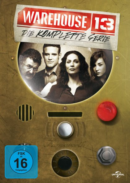 Warehouse 13 - Die komplette Serie (DVD)