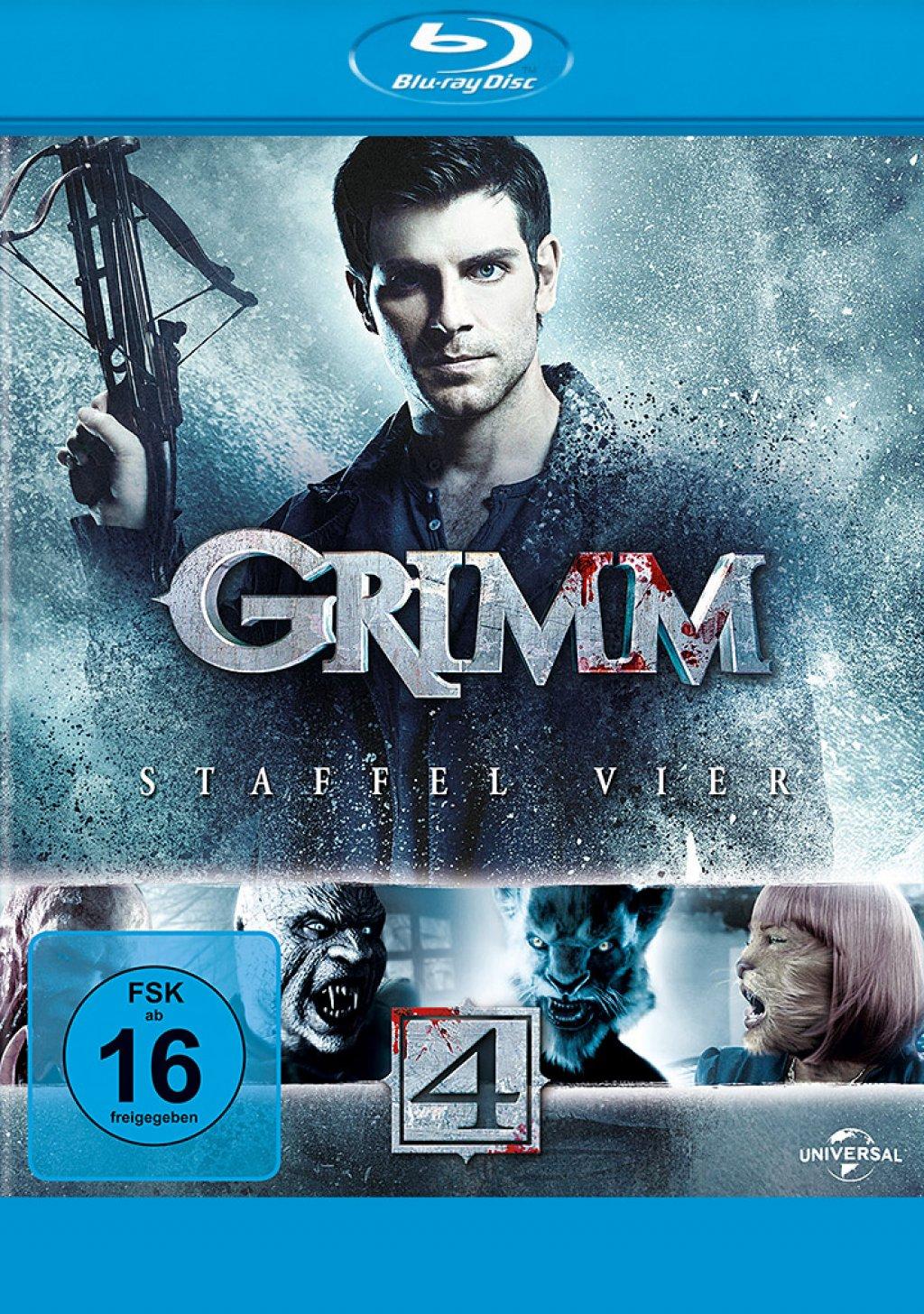 Grimm - Staffel 04 (Blu-ray)