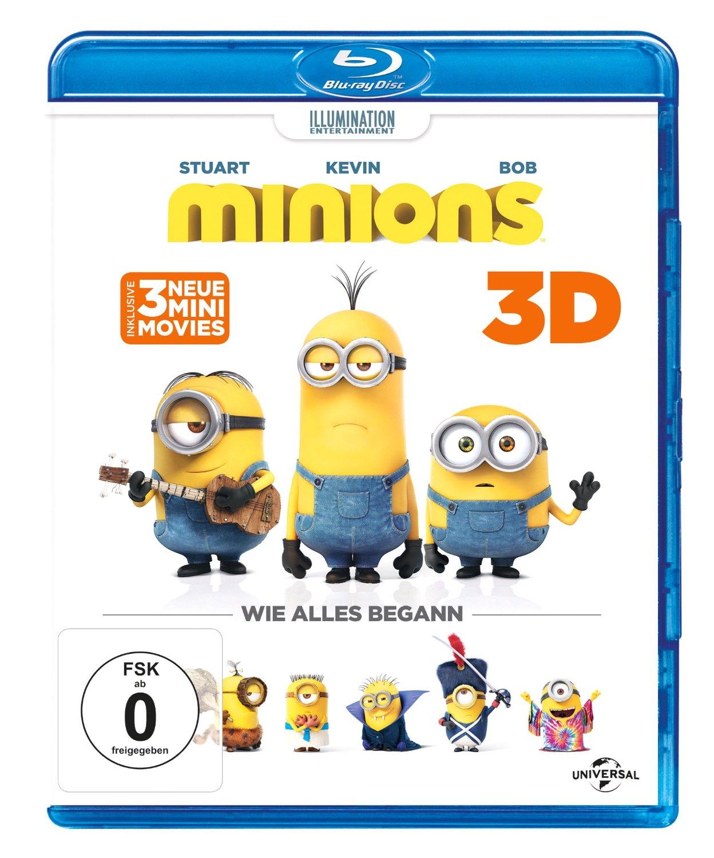 Minions 3D - Blu-ray 3D +2D (Blu-ray)