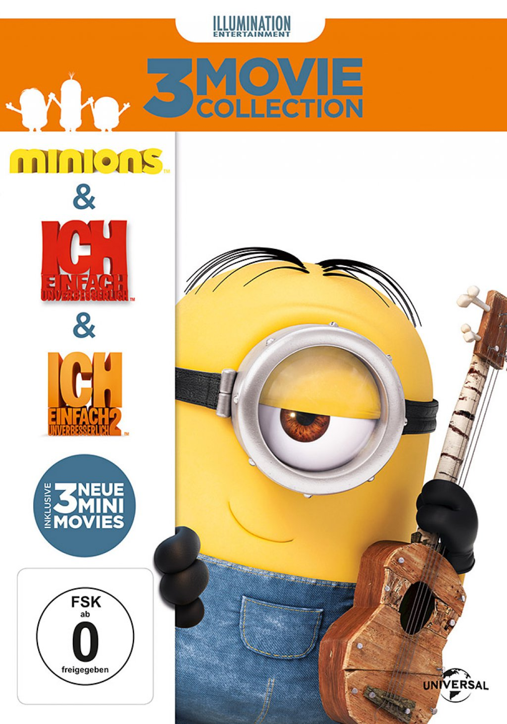 Minions Box (DVD)