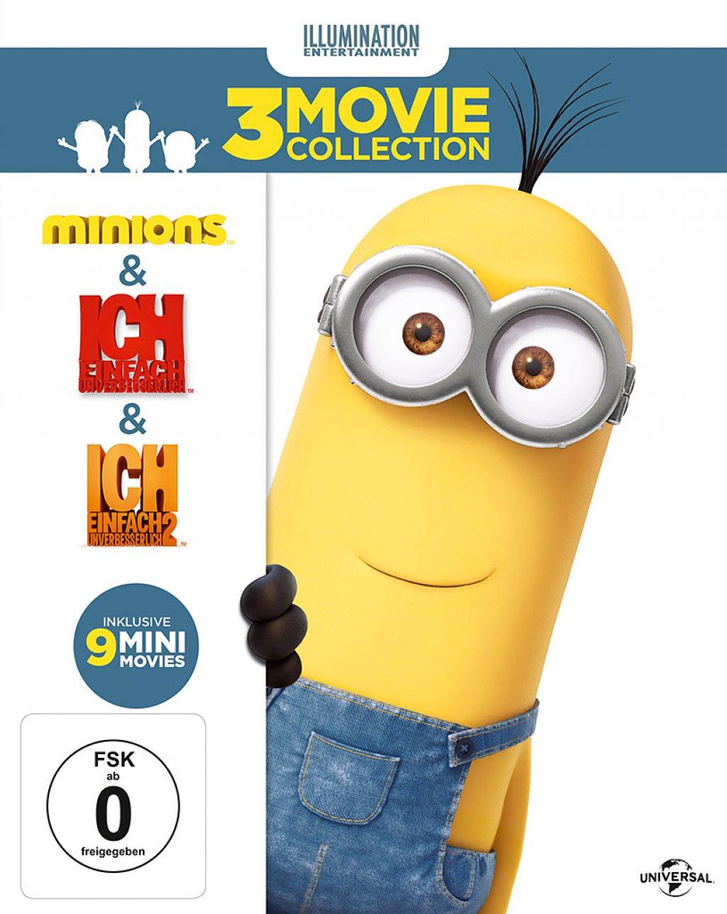 Minions Box (Blu-ray)