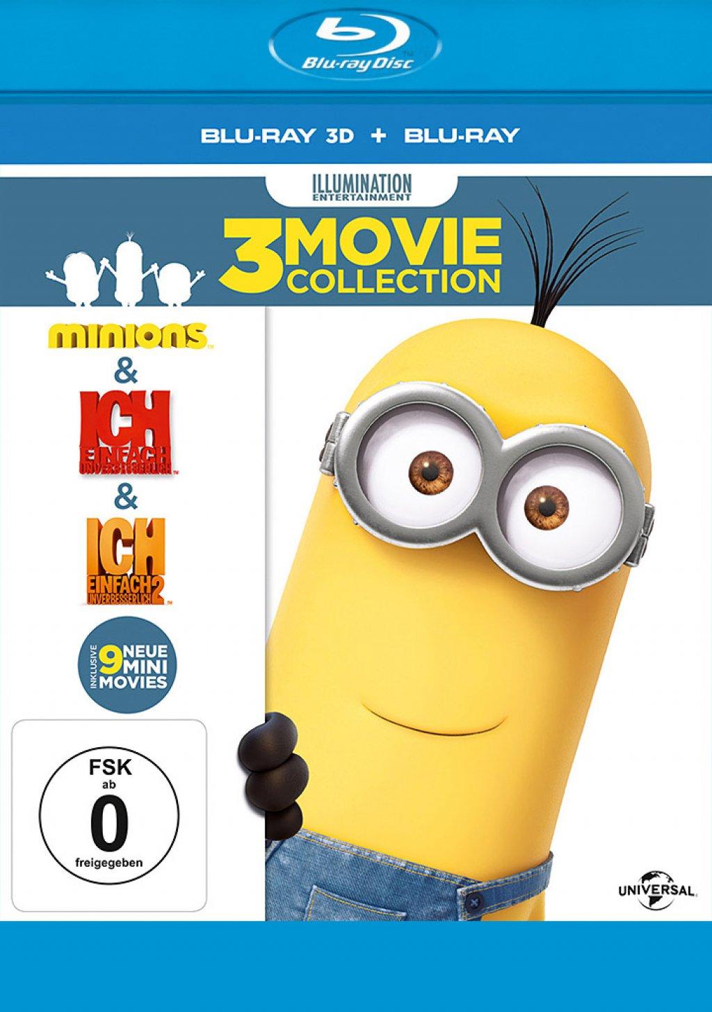 Minions Box - Blu-ray 3D + 2D (Blu-ray)