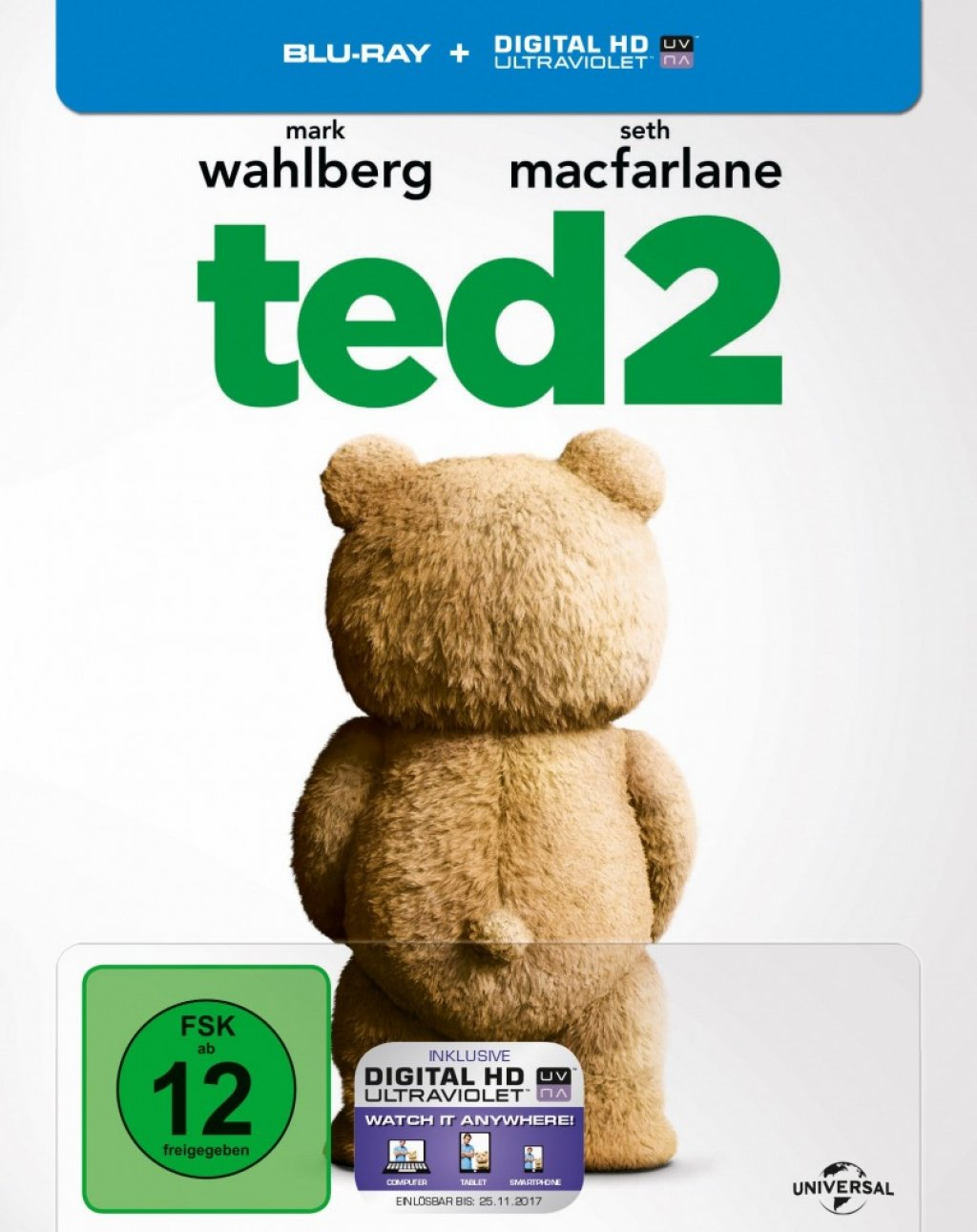 Ted 2 - Steelbook (Blu-ray)