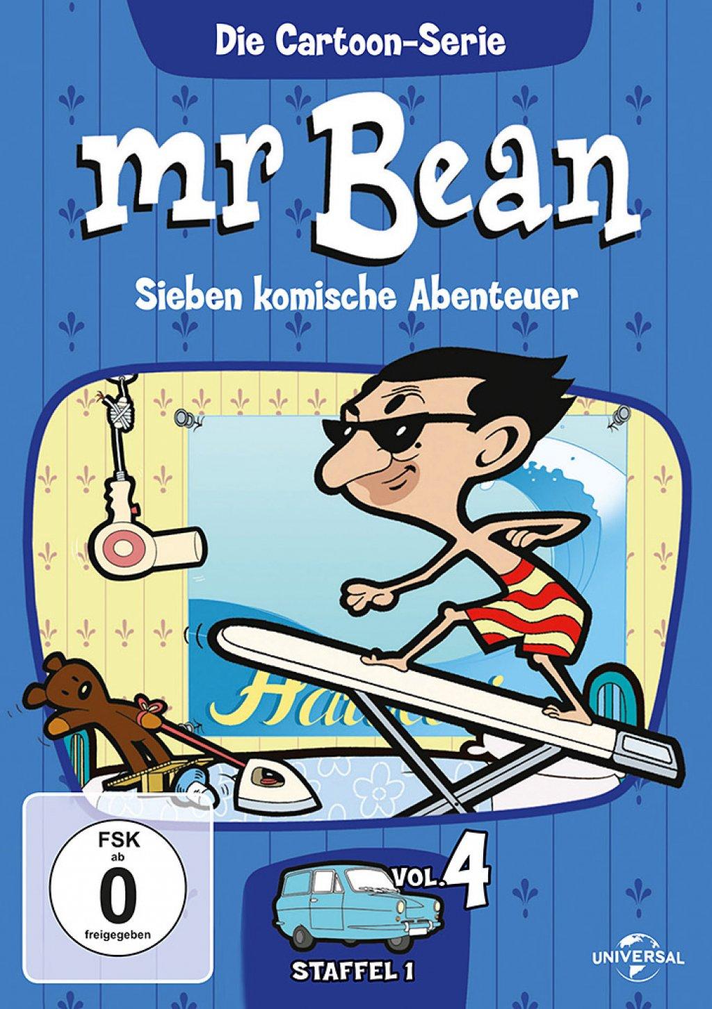 Mr. Bean - Die Cartoon Serie - Staffel 1 / Vol. 4 (DVD)