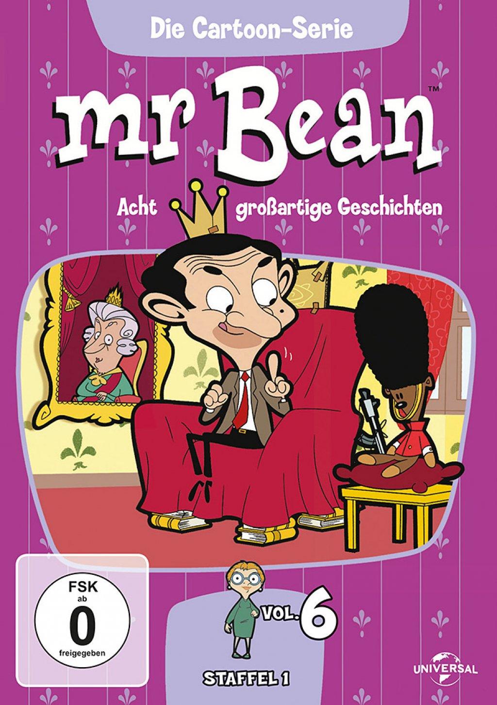 Mr. Bean - Die Cartoon Serie - Staffel 1 / Vol. 6 (DVD)