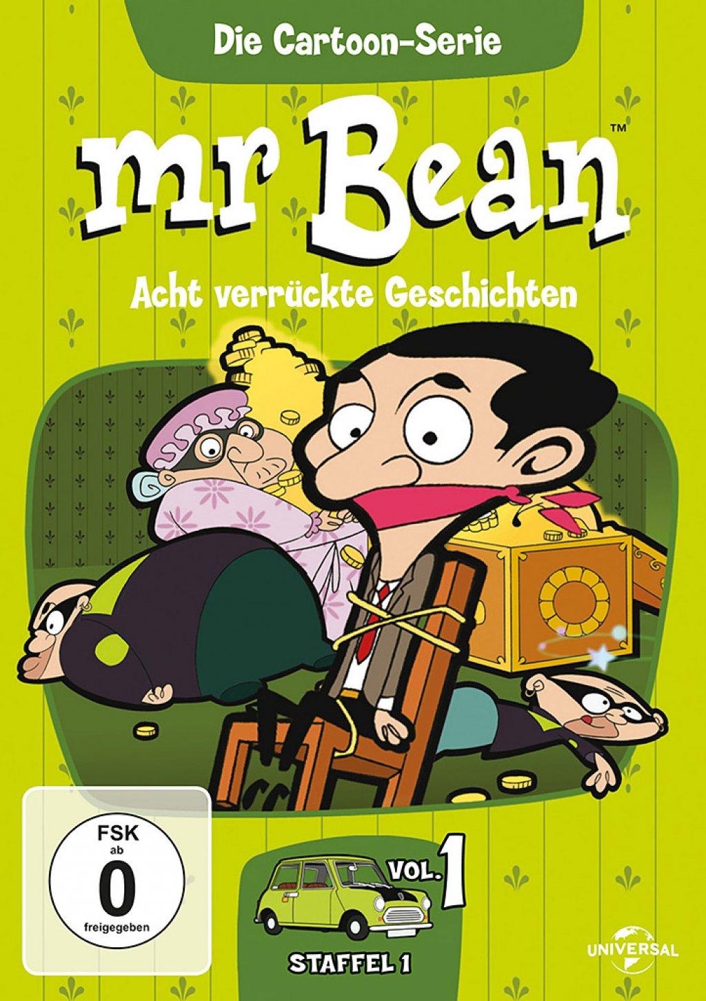 Mr. Bean - Die Cartoon Serie - Staffel 1 / Vol. 1 (DVD)