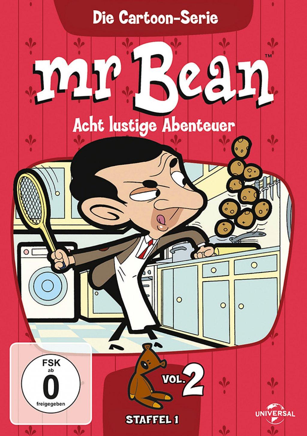 Mr. Bean - Die Cartoon Serie - Staffel 1 / Vol. 2 (DVD)
