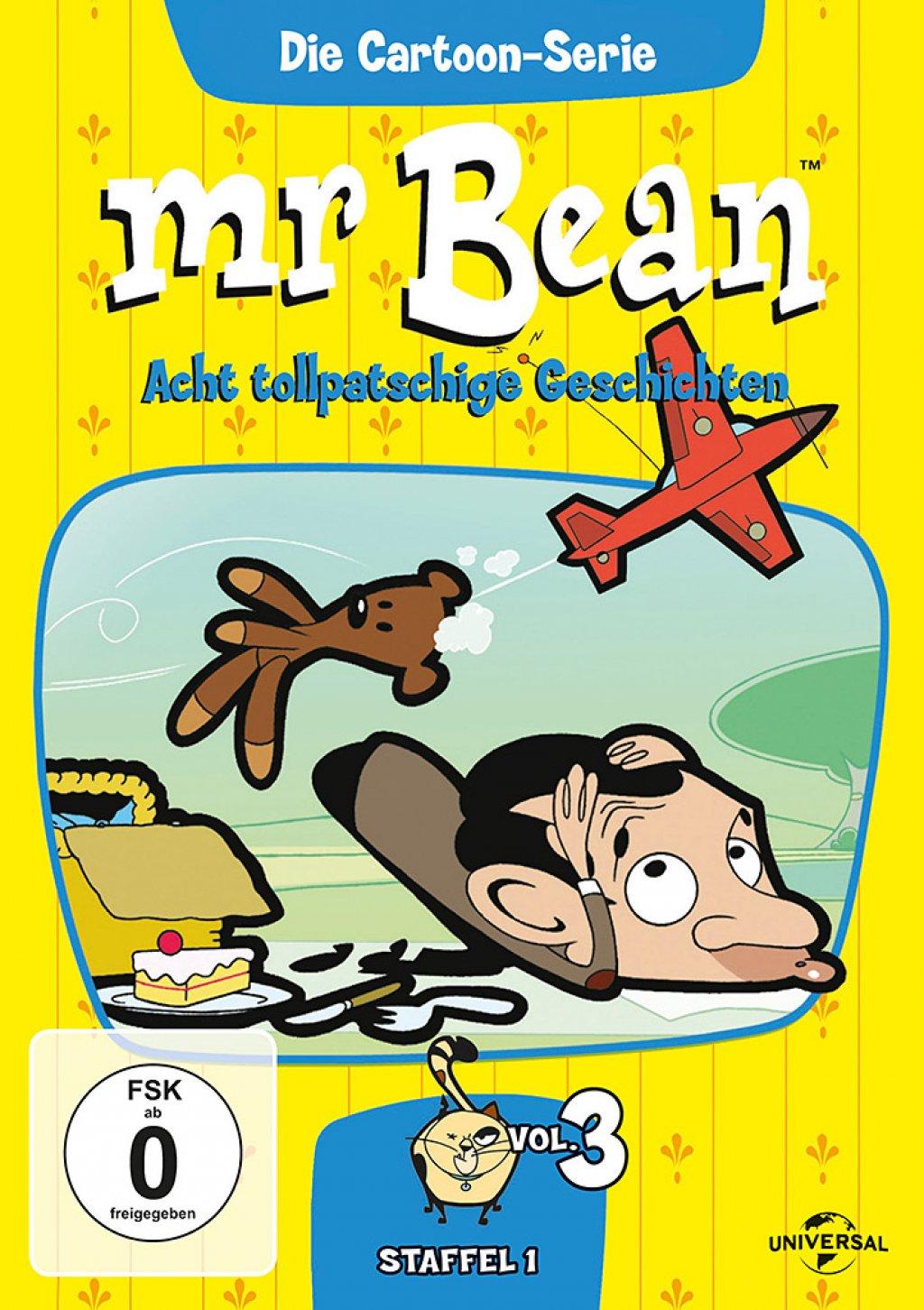 Mr. Bean - Die Cartoon Serie - Staffel 1 / Vol. 3 (DVD)