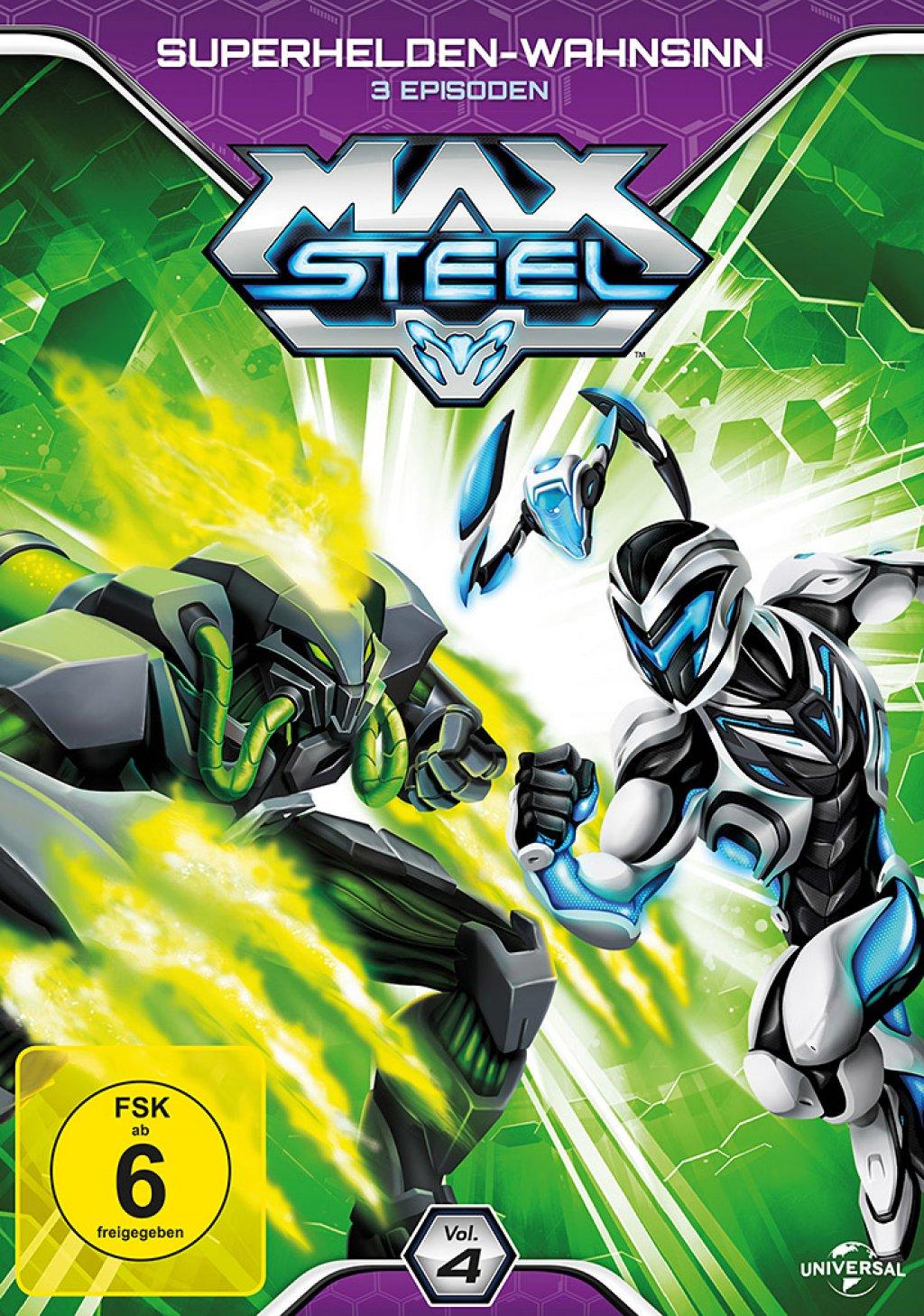 Max Steel - Vol. 4 / Superhelden-Wahnsinn (DVD)
