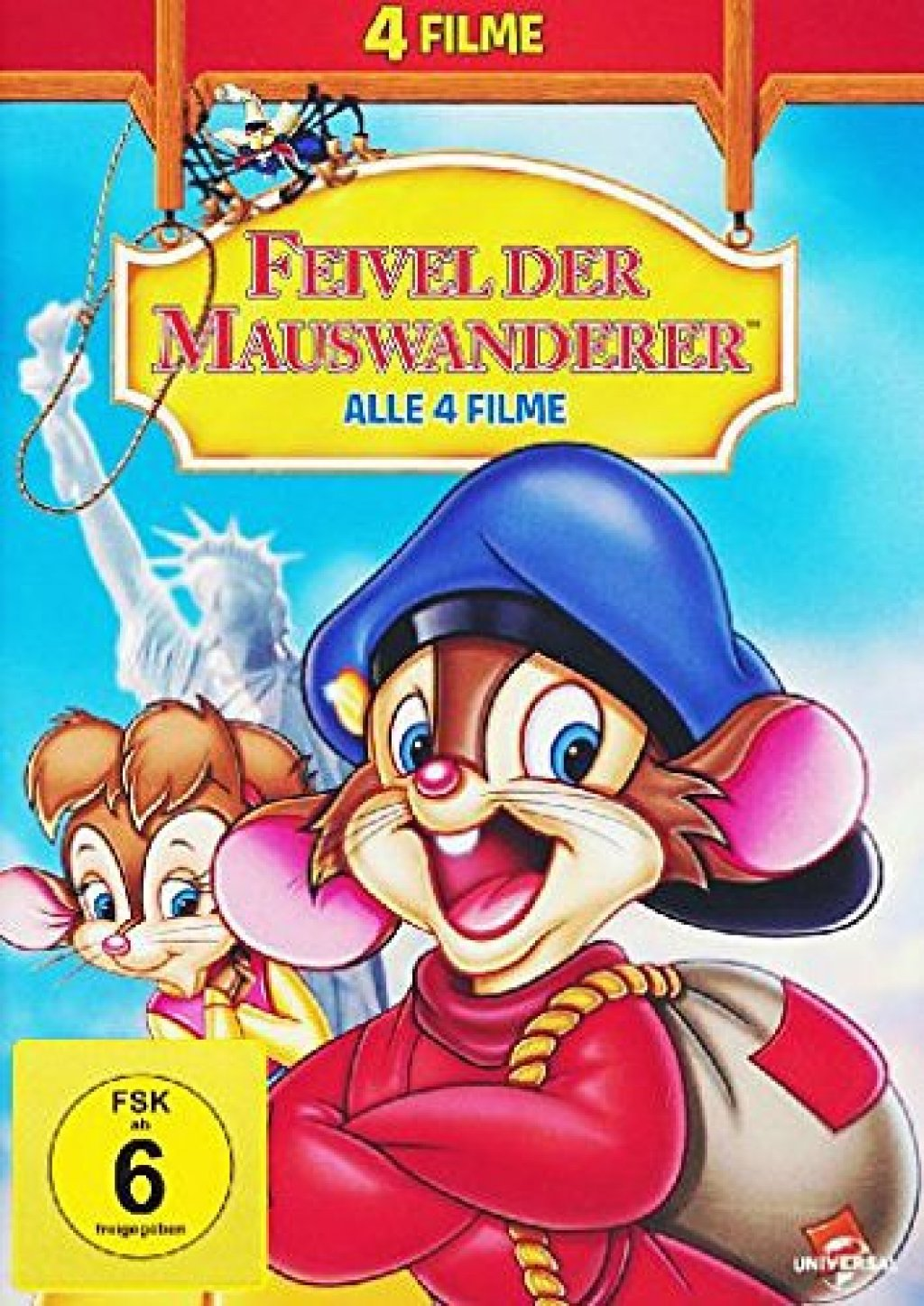 Feivel der Mauswanderer - Alle 4 Filme (DVD)