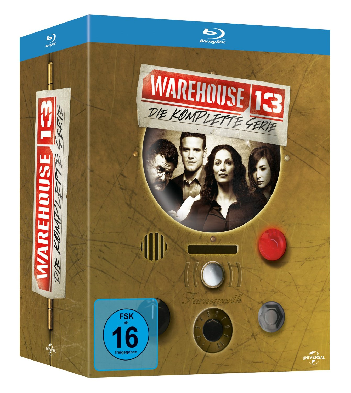 Warehouse 13 - Die komplette Serie (Blu-ray)