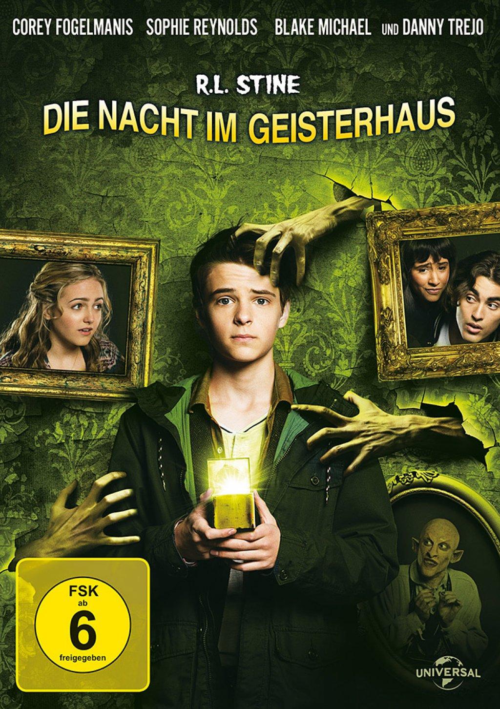 R.L. Stine - Die Nacht im Geisterhaus (DVD)