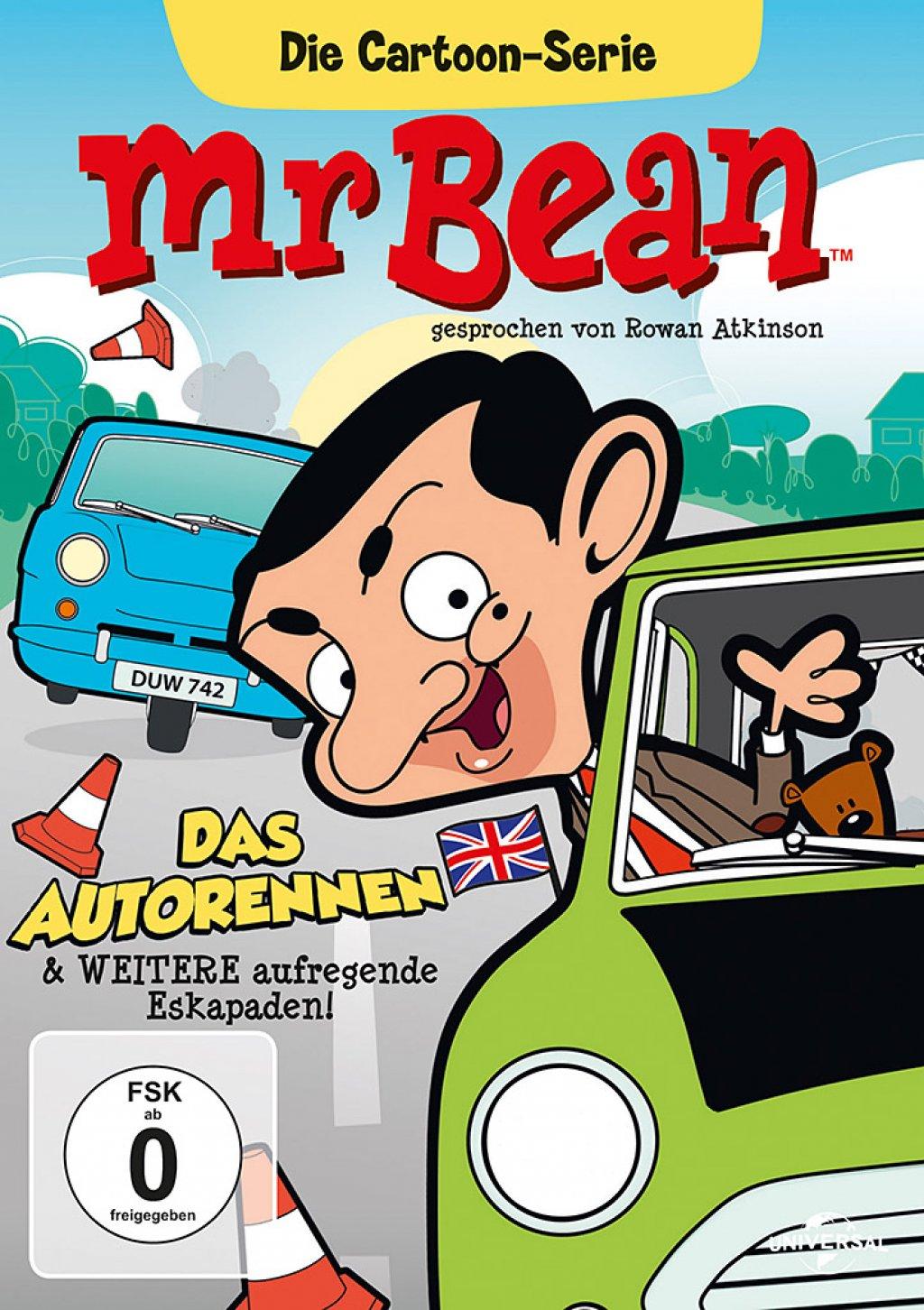 Mr. Bean - Die Cartoon Serie - Staffel 2 / Vol. 3 (DVD)