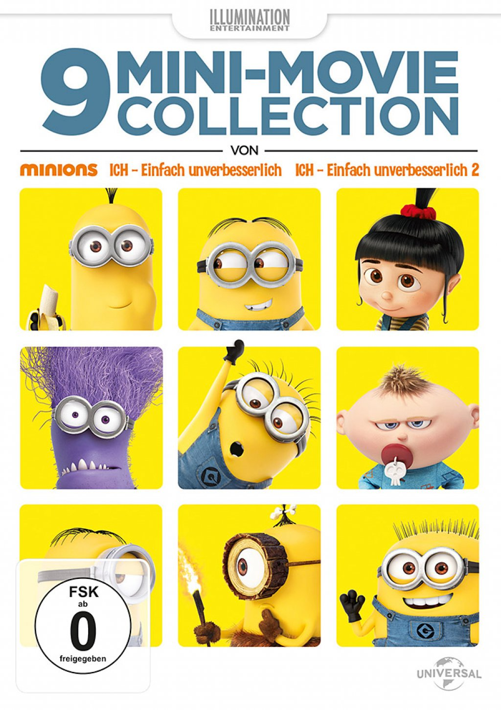 9 Mini-Movies Collection (DVD)