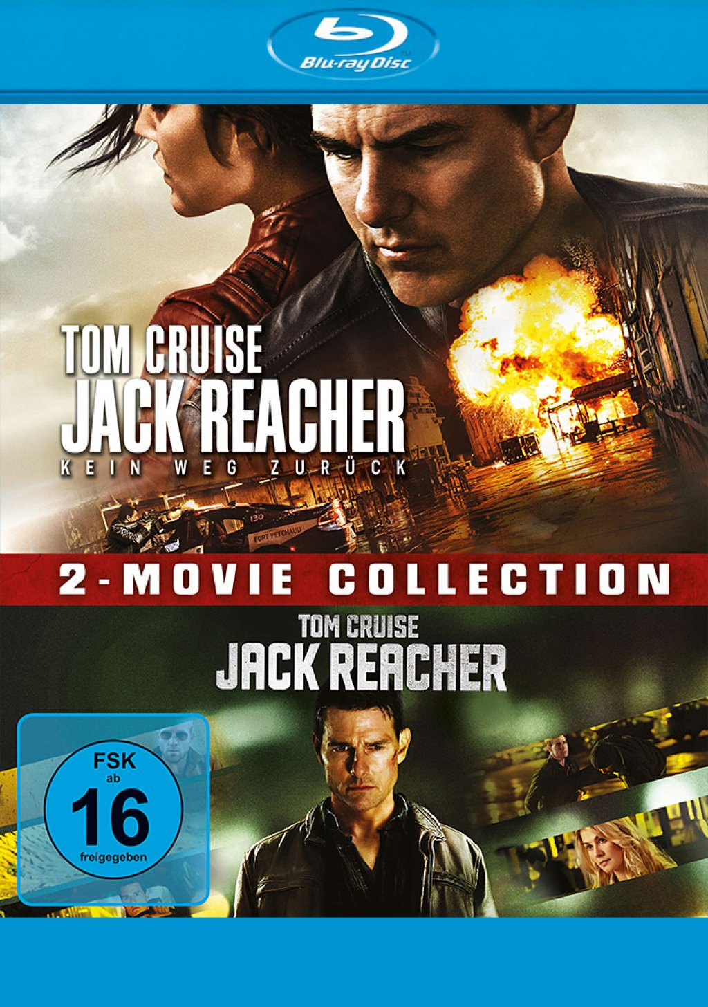 Jack Reacher & Jack Reacher - Kein Weg zurück - 2-Movie Collection (Blu-ray)