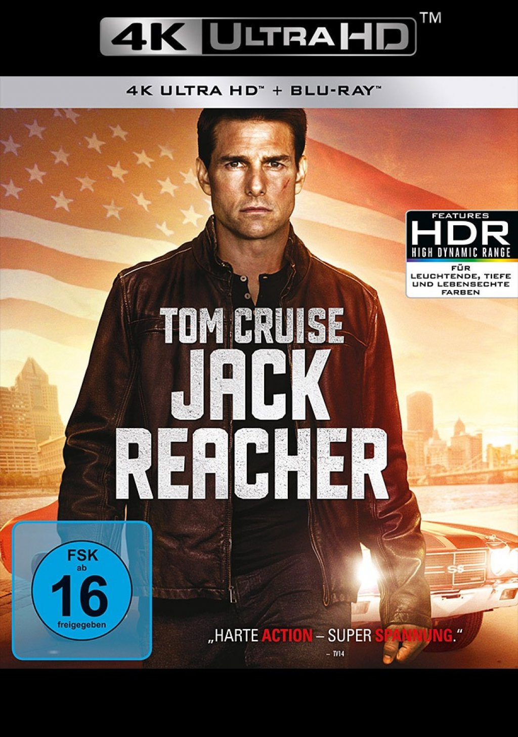 Jack Reacher - 4K Ultra HD Blu-ray + Blu-ray (4K Ultra HD)