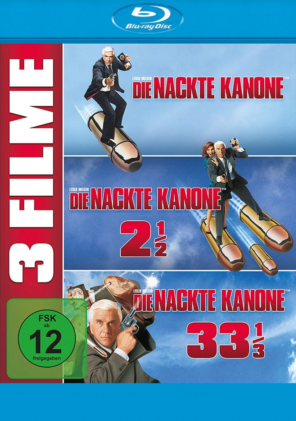 Die nackte Kanone 1-3 - 3 on 1 (Blu-ray)