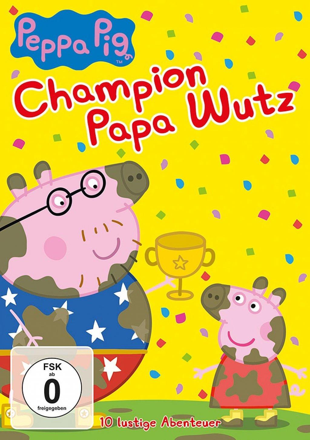 Peppa Pig - Champion Papa Wutz (DVD)